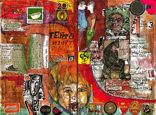 Art Journal Drawings Aleš Motýl Art Journals