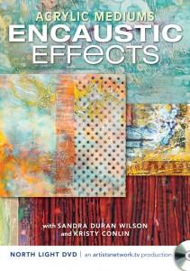 Acrylic Mediums Encaustic Effects