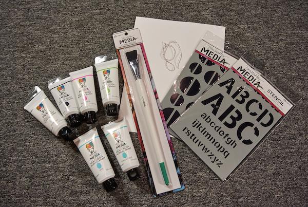 Dina's Art Journaling Live 2 kit