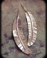 Duck tape earrings_160