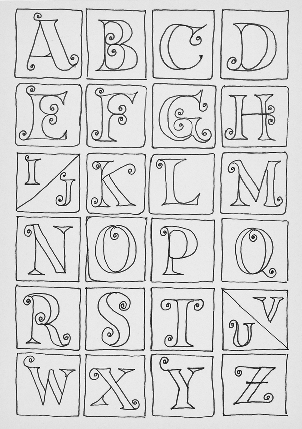 Drawing Lines For Calligraphy : Images about art draw lettering on pinterest
