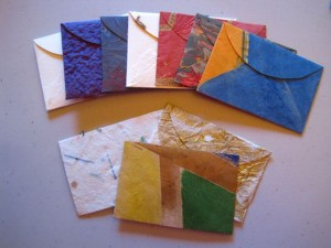 Paper, Lovely Paper: Making Tiny Envelopes - Create Mixed Media