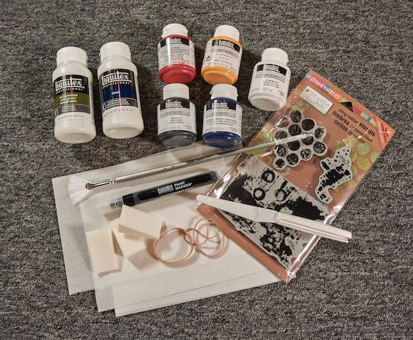 Nathalie Art Journaling Live 2 kit