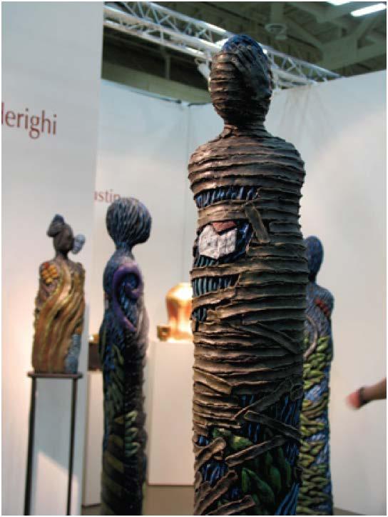 Ceramic Sculpture by Christine Federighi