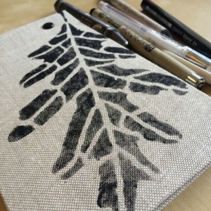 Stenciled-Journal-Cover