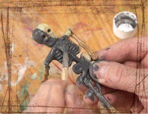 how to make metal look rusty