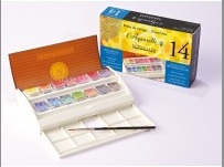 Sennelier French Artis's Watercolor Travel Kit