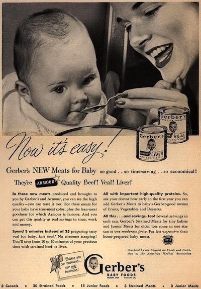 Vintage Gerber Ad