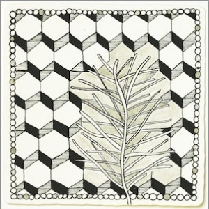 Zentangle Sample 2