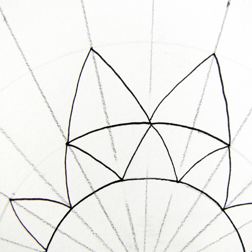 How to Draw a Mandala Using Grids - Create Mixed Media