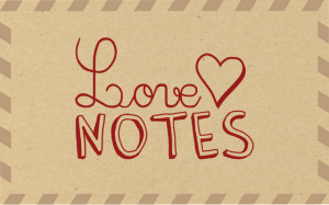 Love Notes Postcard Exchange Project